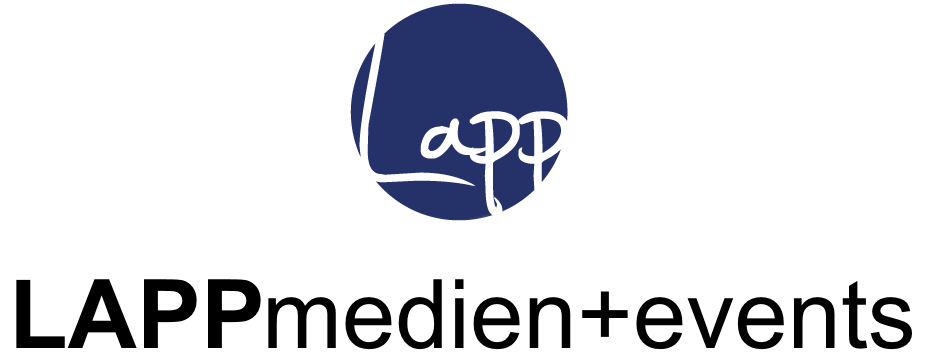 LAPPmedien+events Logo